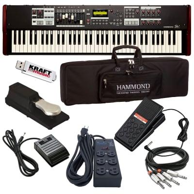 Hammond SK1-73 Portable Organ STAGE RIG