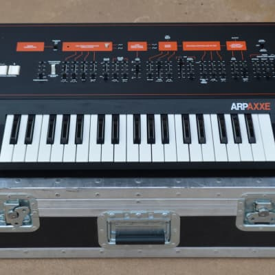 ARP Axxe Mk II Analog Synthesizer Serviced w/ LED Sliders & Anvil Case