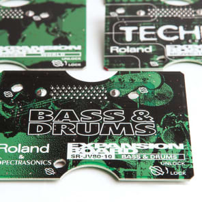 Roland SR-JV80-10 Bass & Drums Expansion Board