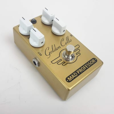 Mad Professor GOLDEN CELLO DELAY DRIVE Guitar Effect Pedal for sale