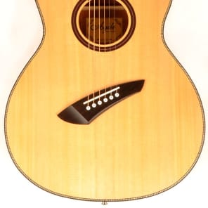 Agile Renaissance 62527 EQ NA 6 String Acoustic Multi Scale Fan Fret Natural for sale