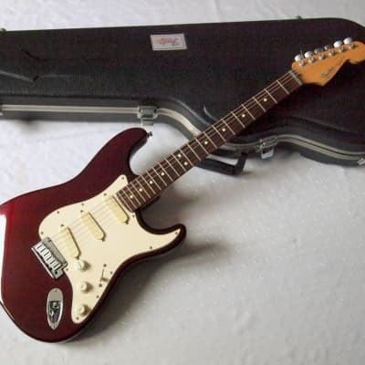 Fender  Strat Plus 1993 Deep Red Metallic for sale