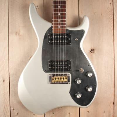 Daion Savage guitar 81   Silver  w/gig bag for sale