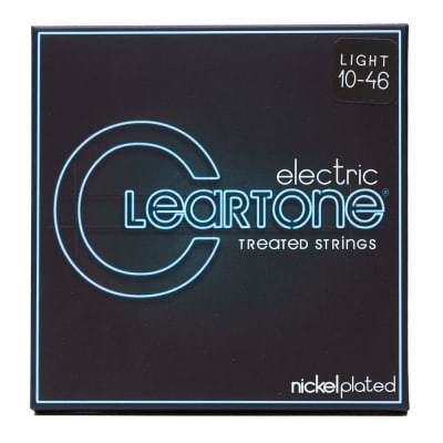 Cleartone 9410 Coated Nickel Plated Steel Electric Guitar Strings 10-46 Light