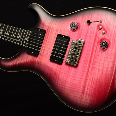 NEW Paul Reed Smith Wood Library Custom 24-08 Satin in Brian's Limited Bonnie Pink Smokeburst! for sale