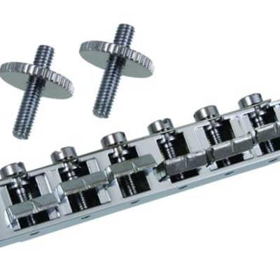 Allparts GB-2503 Economy Tunematic Bridge - chrome for sale