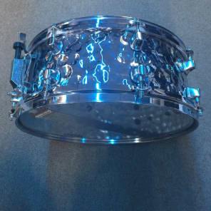 """Mapex MPST4558H MPX 14x5.5"""" Hammered Steel Snare Drum"""