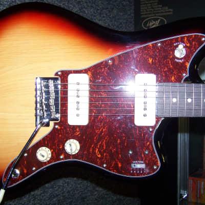 Tagima TW-61 Sunburst  Offset body electric guitar with Fender Tweed gig bag for sale