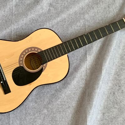 """CRESCENT Acoustic Classical Guitar 100% Handmade 38"""" Fair Condition for sale"""