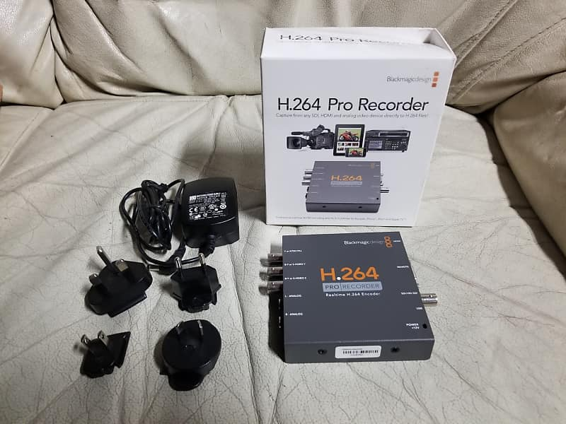 Blackmagic Design H 264 Pro Recorder Tom Stafford Reverb