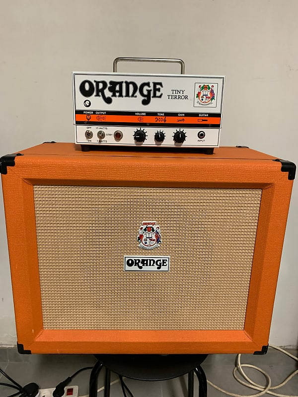 orange tt15h tiny terror 15 watt guitar amp head with reverb. Black Bedroom Furniture Sets. Home Design Ideas