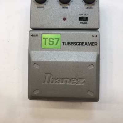 Ibanez TS7 Tone-Lok Tube Screamer Overdrive Guitar Effect Pedal