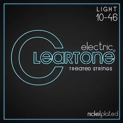 Cleartone .010-.046 LIGHT 9410 Electric Guitar strings 6 PACKS