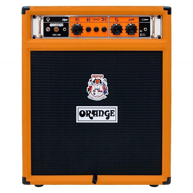 orange ob1 300 bass guitar combo amplifier orange zzounds reverb. Black Bedroom Furniture Sets. Home Design Ideas