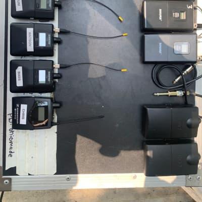 Behringer, Shure, Furman Behringer X32, Shure PSM300 (4), Shure SLX4 (3), Furman power conditioner Rack mounted