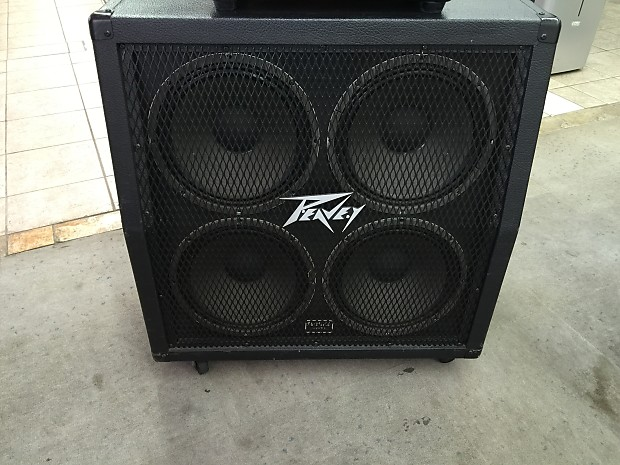 Peavey 412MS Stereo Guitar 4x12 Cabinet (Sheffield Equipped) | Reverb