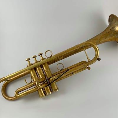 Warburton 235 Bb Trumpet Raw Brass