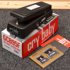 Dunlop GCB95F Crybaby Fasel Inductor Classic Wah Pedal