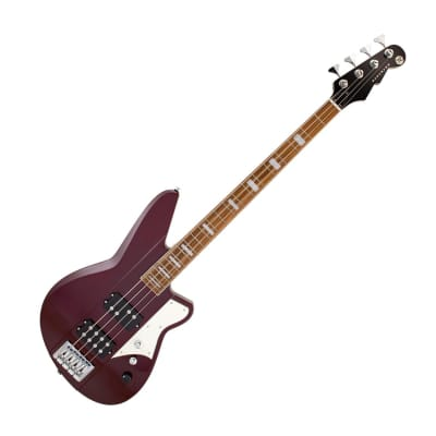 Reverend Thundergun Electric Bass, Medieval Red
