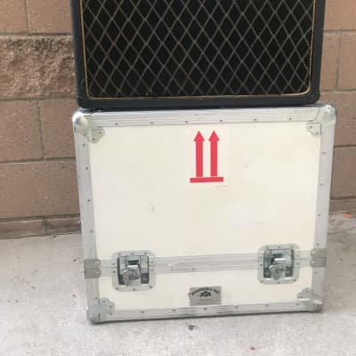 Vintage Vox Cambridge Reverb V1031 solid state amp California England Thomas Organ footswitch and road case