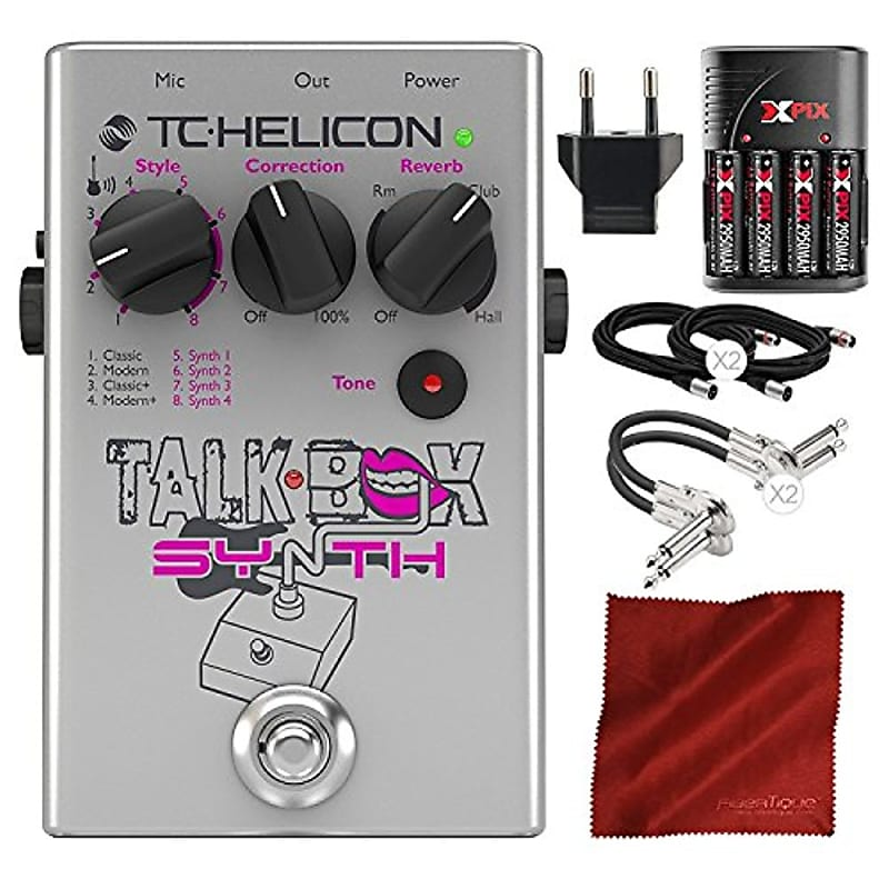 tc helicon talkbox synth electric guitar pedal for singers reverb. Black Bedroom Furniture Sets. Home Design Ideas