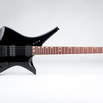 Downes Guitars Model 101H - Black headless 6-string