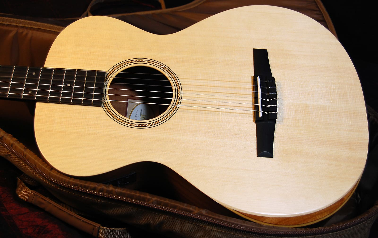 Taylor A12e Nylon Academy Series Grand Concert Acoustic/Electric Guitar Natural Authorized Dealer