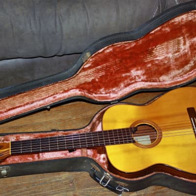 Rare& Vintage 1965 Goya G-17 w/OHSC  Sweden ,All Solid Woods, African Mahogany B+S's Player Restore for sale