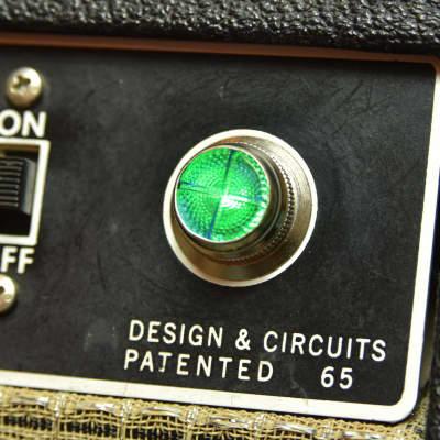 Invisible Sound Guitar amplifier Jewel Lamp Indicator amp jewel.  Model GC 01.  For pilot light