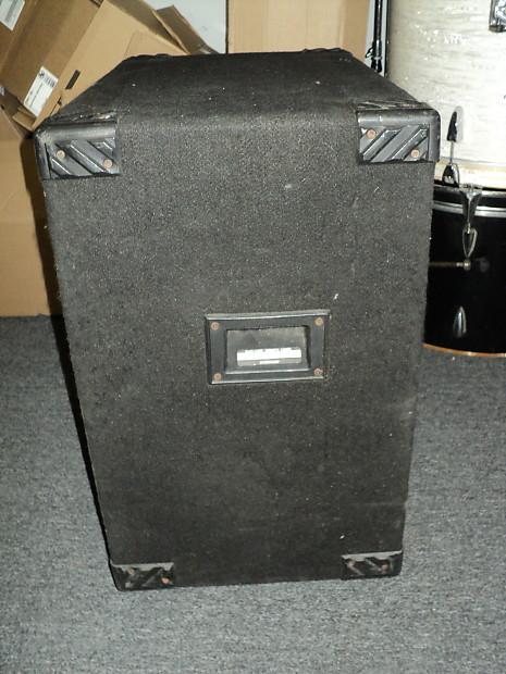 hartke 115tp transporter 1x15 electric bass guitar speaker reverb. Black Bedroom Furniture Sets. Home Design Ideas