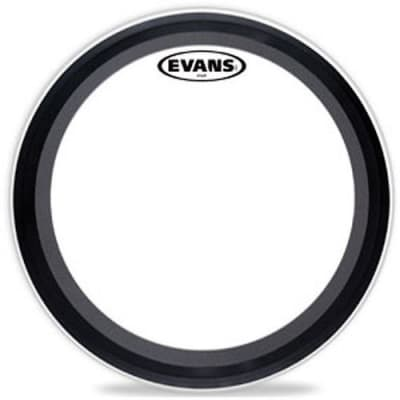 "Evans 24"" EMAD Clear Bass Drum Head BD24EMAD^"