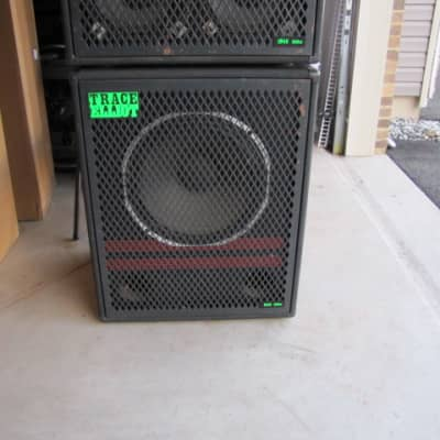 Trace Elliot 1518 (1x15) cabinet only Black / Green