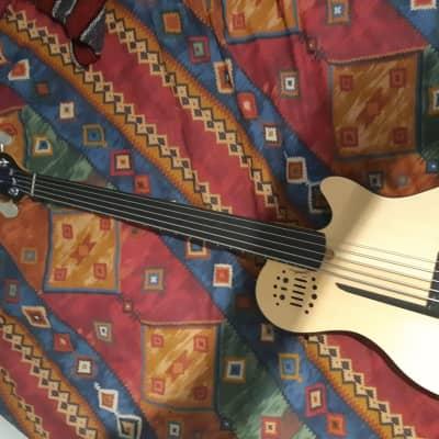 Godin A5 Ultra Semi-Acoustic Fretless 5-String Bass Natural