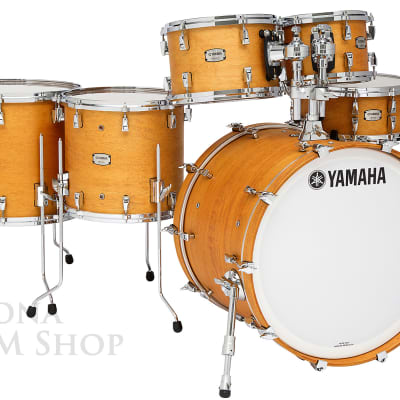 Yamaha Absolute Hybrid Maple Drum Shell Set VINTAGE NATURAL - 22/10/12/14/16/14S