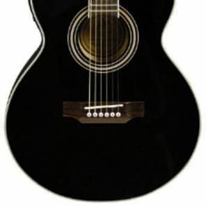 JB Player JBEA15 Bloom Acoustic-Electric Single-Cutaway Guitar - Black for sale