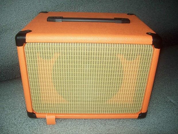 orange 1x8 guitar amp speaker extension cab cabinet with reverb. Black Bedroom Furniture Sets. Home Design Ideas