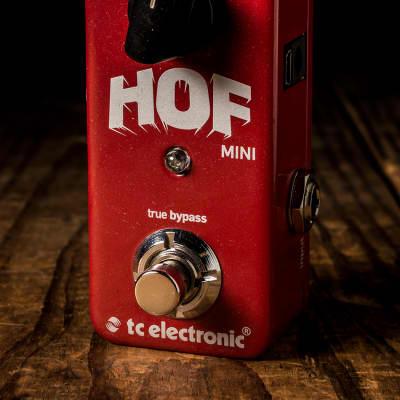 TC Electronic Hall Of Fame Mini Reverb Pedal - Free Shipping