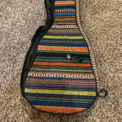 On-Stage Stands GBU4101S Deluxe Tenor Ukulele Gig Bag Backpack Multicolored