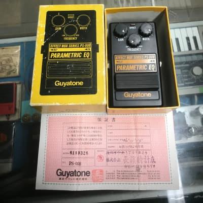 Guyatone PS-008 Parametric EQ w/Box for sale