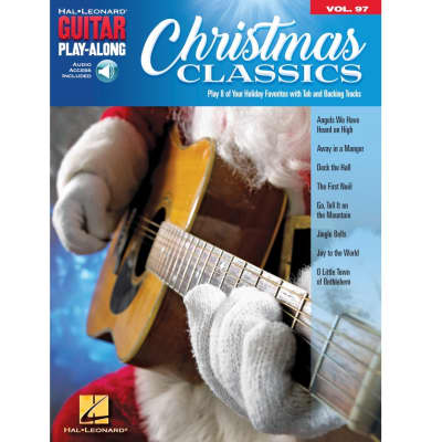 Christmas Classics - Guitar Play-Along Volume 97