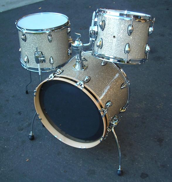 Custom made Mini Drum Kit in Broken Glass Finish Very COOL ...
