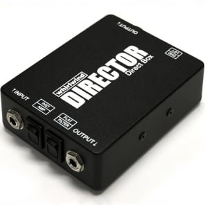 Whirlwind DIRECTOR Direct Box with Ground Lift