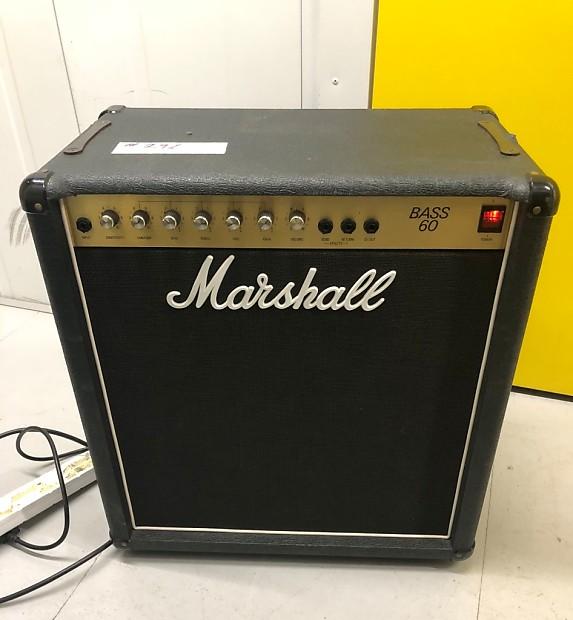 Marshall BASS 60 Model 5506 Combo Amplifier 60Watt 1 X 15 Vintage