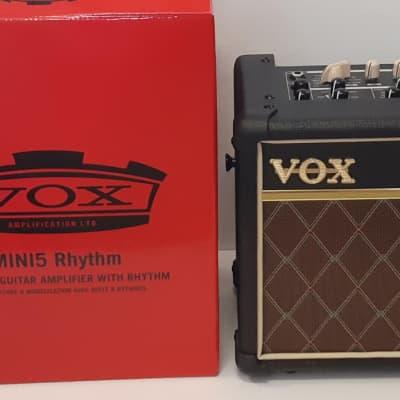 """NEW Vox MINI5 RM-CL 5-Watt 1x6.5"""" Battery OR Powered Modeling Busking Combo Amp"""