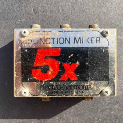 Electro-Harmonix 5x Junction Mixer