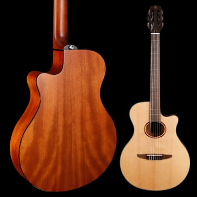 Yamaha NTX1 Nylon String Acous / Electric, Natural 687 3lbs 10.8oz for sale
