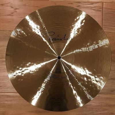 "Paiste 17"" Signature Series Mellow Crash Cymbal w/ FREE Paiste T-Shirt"