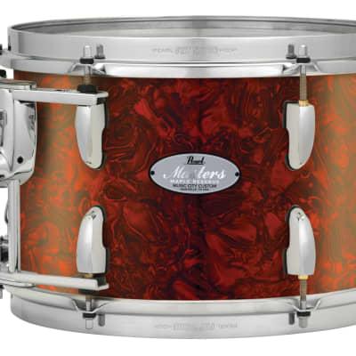 "Pearl Music City Custom 18""x16"" Masters Maple Reserve Series Floor Tom Drum MRV1816F - Burnt Orange Abalone"