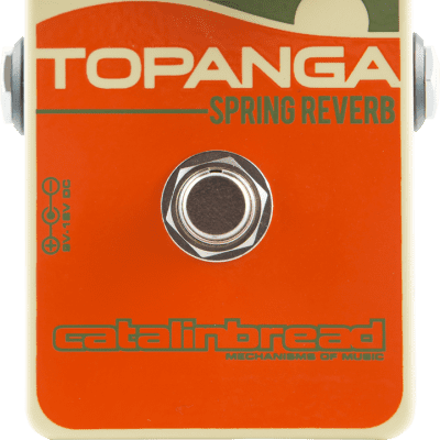 Catalinbread Topanga Spring Reverb Effects Pedal