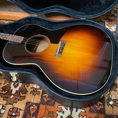 Vintage 1930s Gibson TG00 Sunburst USA Tenor Acoustic Guitar REFIN w/ TKL Case